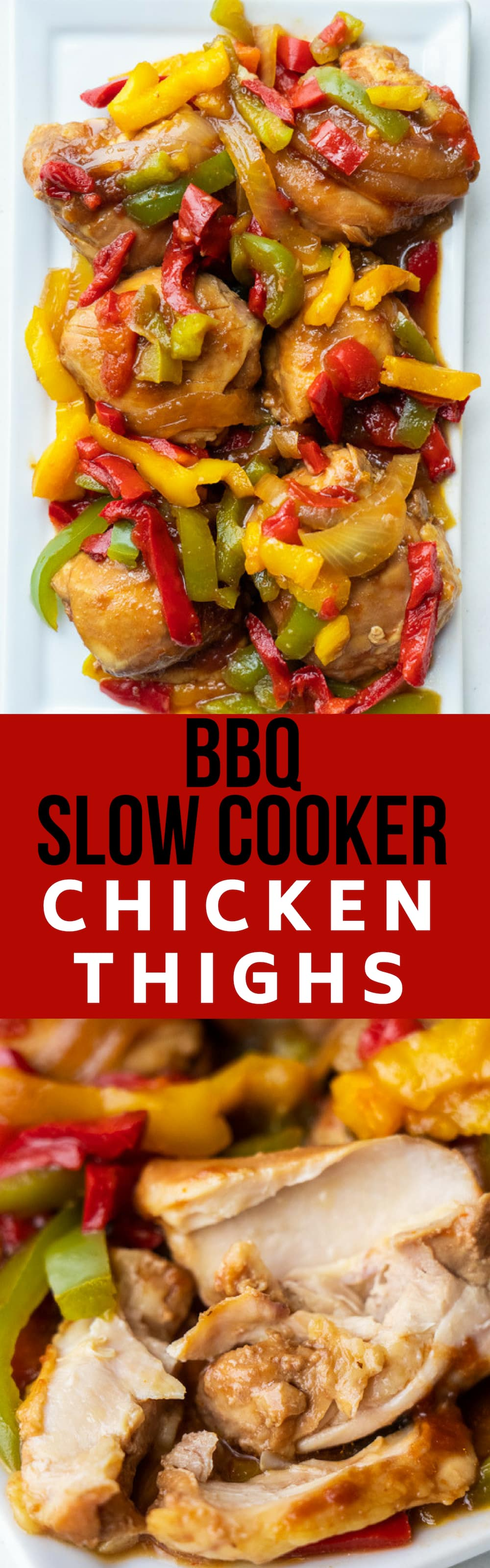 Bbq Slow Cooker Chicken Thighs Ready In Only 2 Hours
