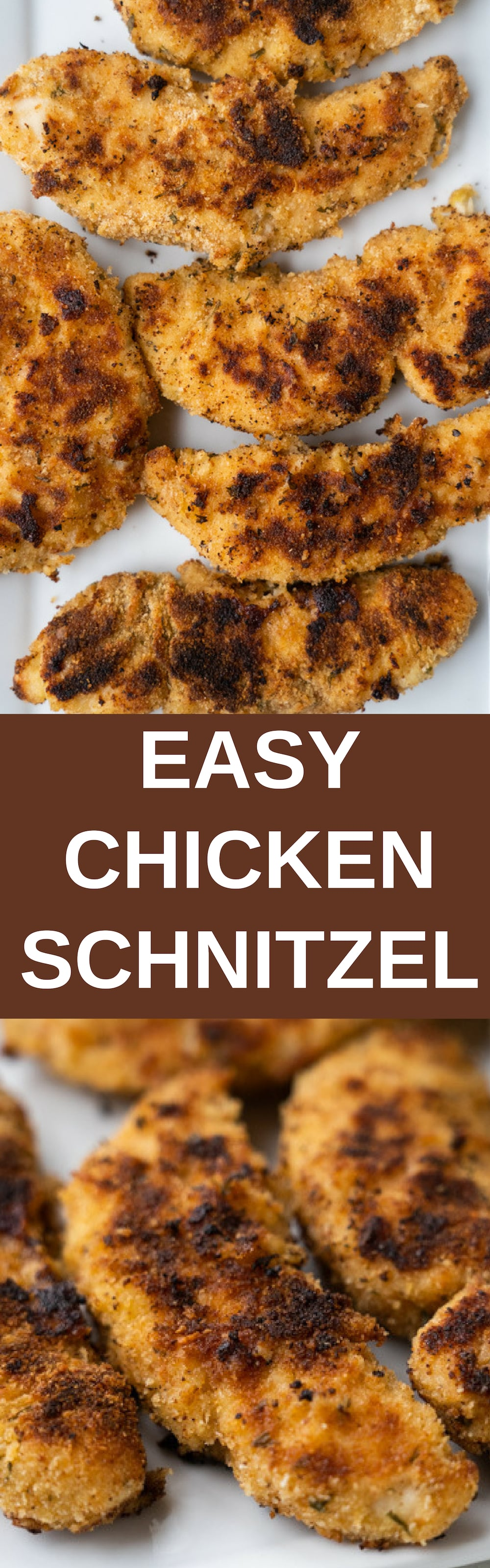 German Chicken Schnitzel recipe. This is a grandma recipe so you know it's going to be good.This easy meal only takes 15 minutes! Make sure to serve with classic German sides like potato salad, sauerkraut and spaetzle.