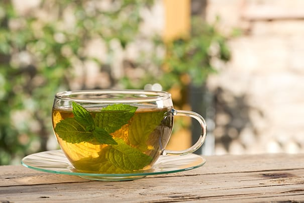 DIRECTIONS on How to Dry Mint Leaves for Mint Tea! These DIY How to Make Mint Tea instructions shows how easy it is to dry mint leaves so you can make your own homemade mint tea. I store this dried mint tea for months so I can enjoy the health benefits year round!