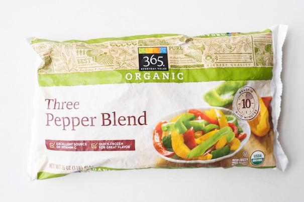 Three Pepper Blend Frozen Peppers
