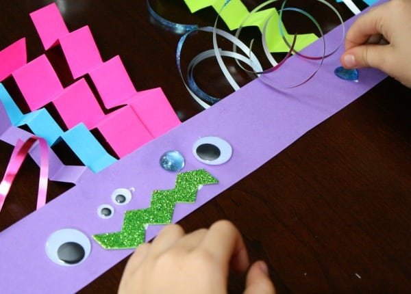 Monster Headband Craft