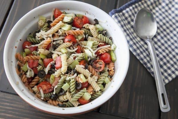 Tri Color Pasta Salad