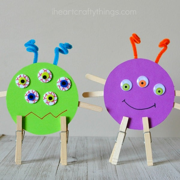 Monster Crafts for Toddlers