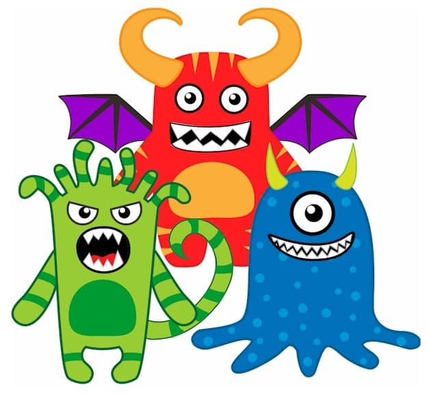 20 Crazy Easy Monster Crafts for Kids! Monster loving preschool toddlers and older kids will love these fun DIY crafts!  Even better for Mom - there's not too much cleanup involved!