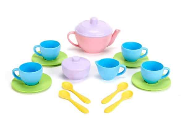 green toys eco friendly tea set