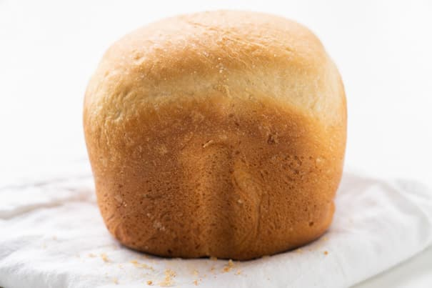 Bread Machine Italian Bread recipe. These easy step by step instructions show how to make crusty Italian bread in your machine. I make this homemade bread weekly for family!