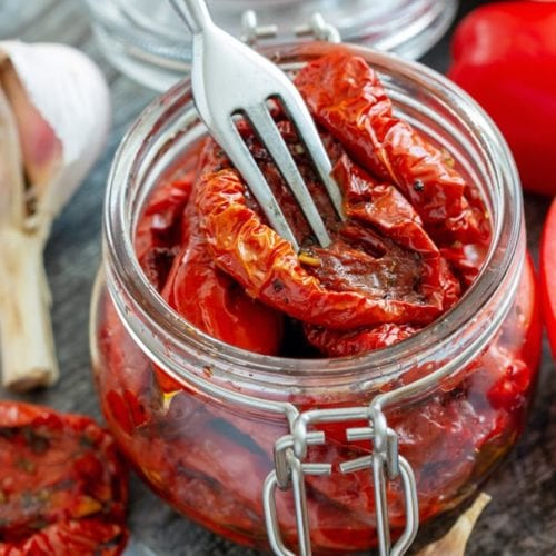 Homemade Sun Dried Tomatoes How To Make In The Oven