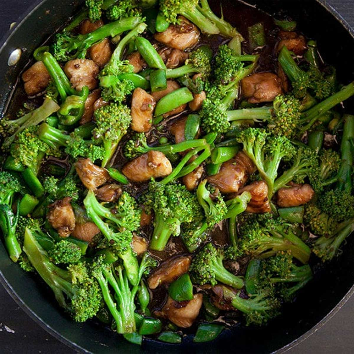 Chinese Chicken And Broccoli - Healthy Authentic Recipe-5871