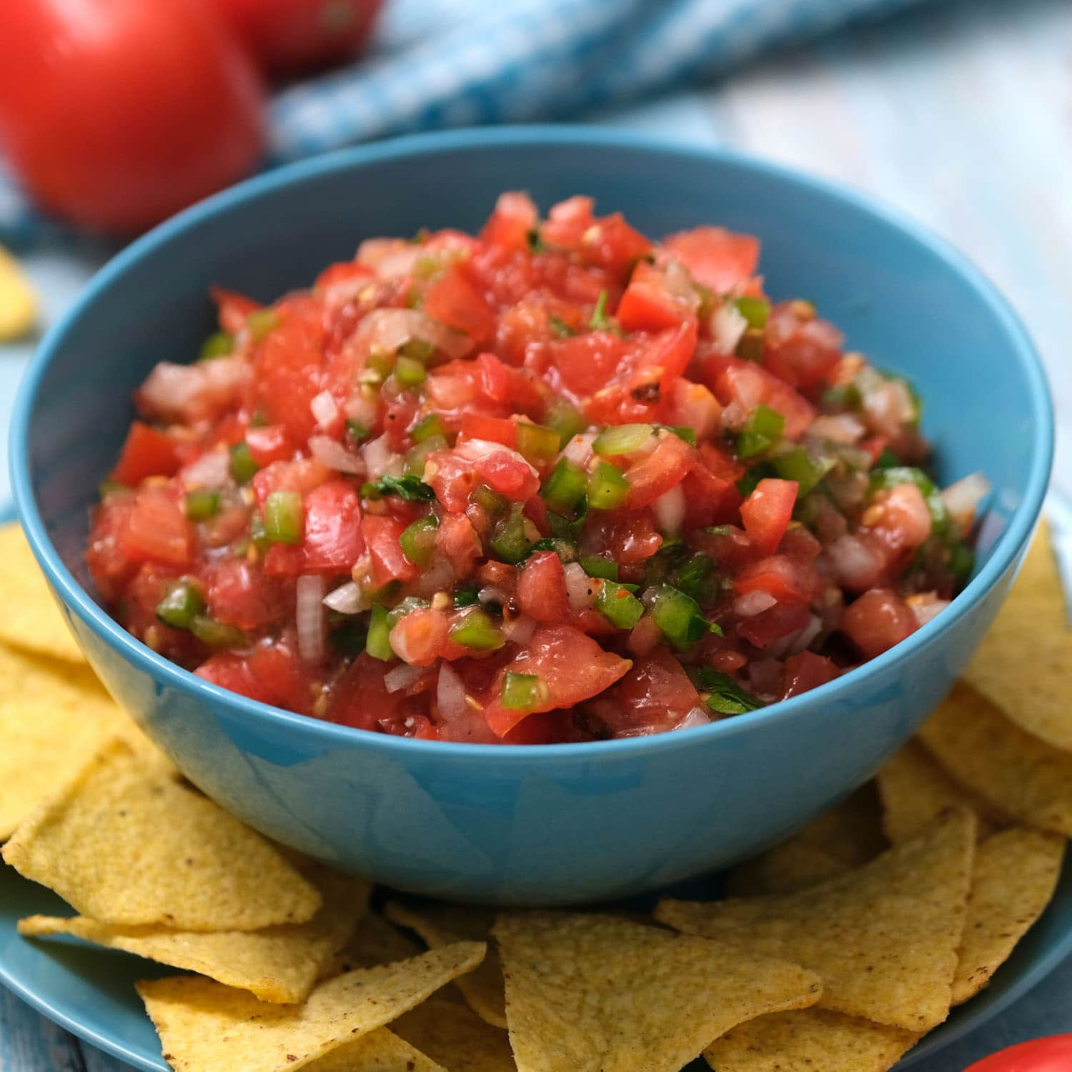 Fresh Tomato Salsa Easy Homemade Salsa Recipe