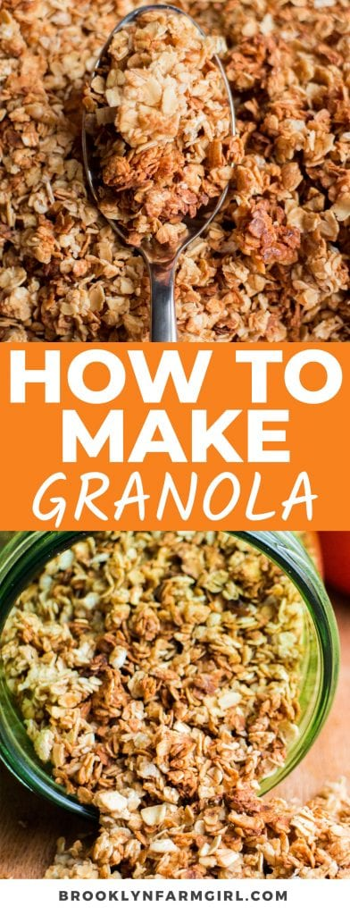 Learning How to Make Granola at home is the best way to save money and enjoy healthy breakfasts every day. So easy, crispy, and versatile, this vanilla and cinnamon flavored granola is sure to become a new pantry staple!