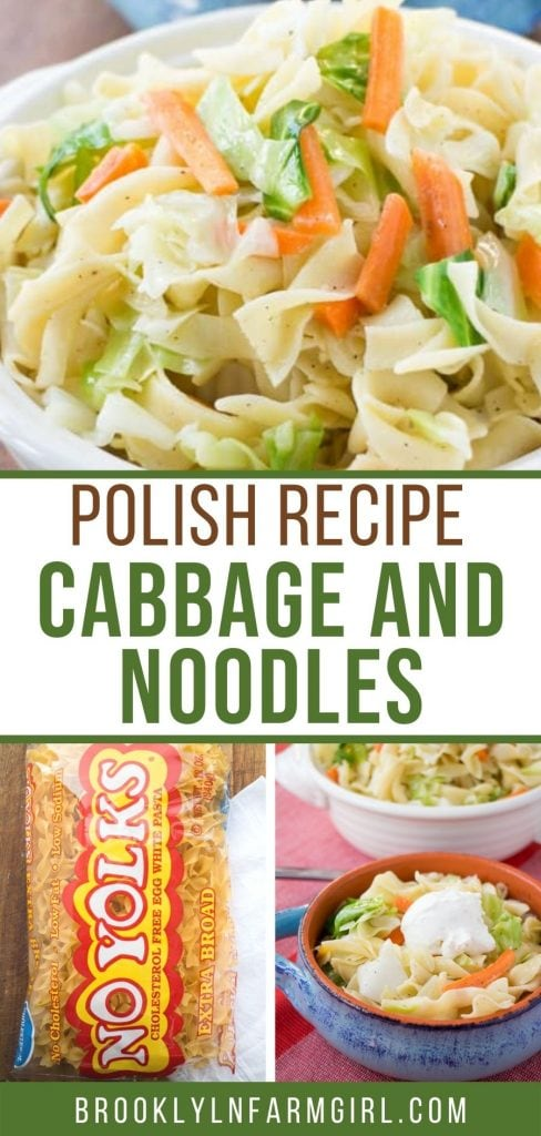 Polish Cabbage and Noodles or commonly called Haluski is a quick and easy recipe to make! This is an authentic Polish recipe passed on to me by my grandmother!  Ready in 25 minutes from start to finish!