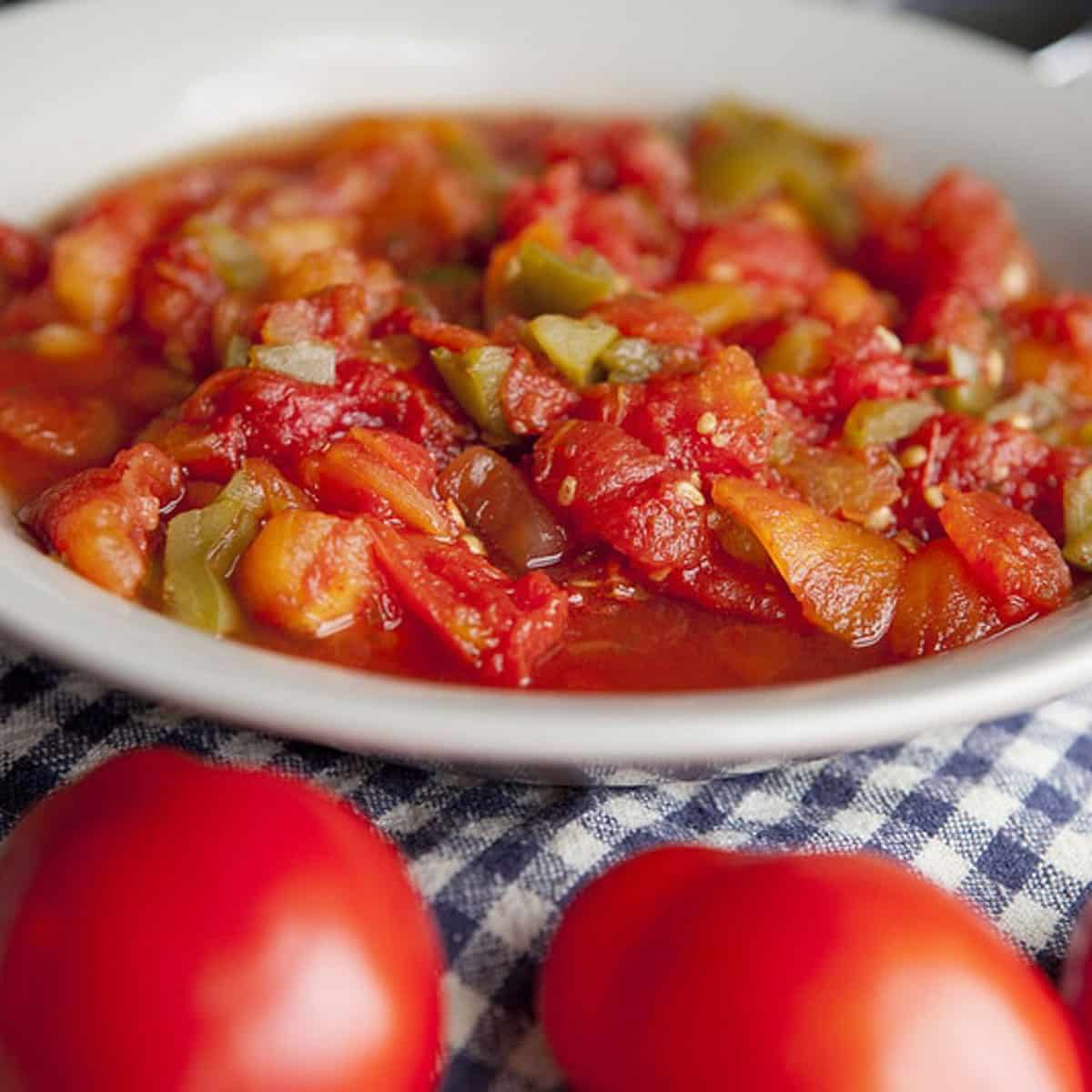 The Best Stewed Tomatoes Ever Easy Homemade Recipe