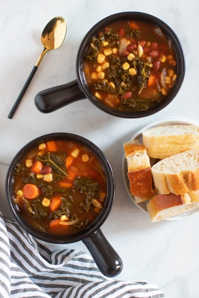 Bookmark these 50 Vegetarian Slow Cooker recipes so you're all set for your next 50 Meatless Mondays meals. They are tasty, flavorful, and easy to make.
