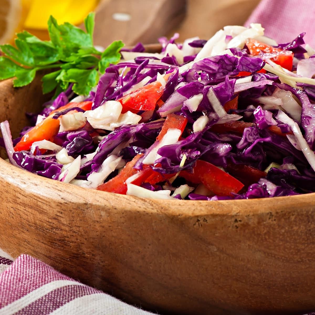 Red Cabbage Salad Brooklyn Farm Girl