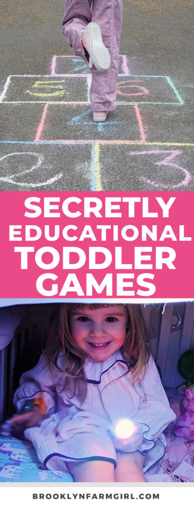 Don't be afraid to play some silly but educational games. Toddlers learn through play. You might be surprised by what they can learn.