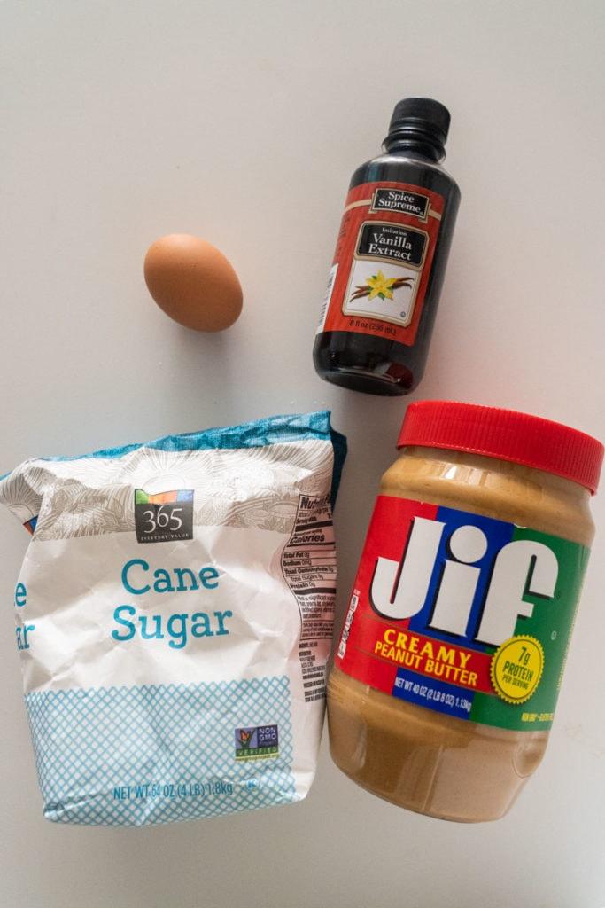 4 ingredients to make cookies