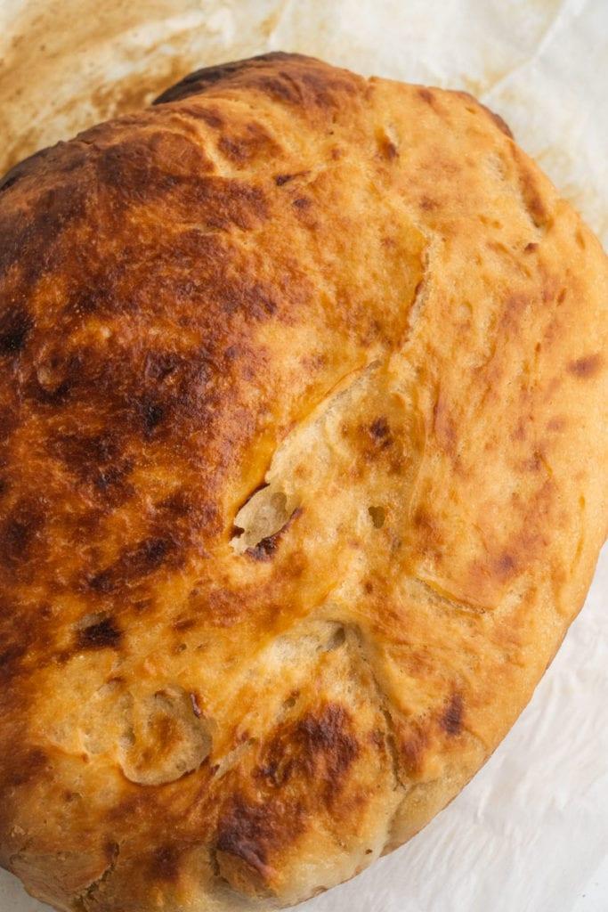 crusty sourdough bread