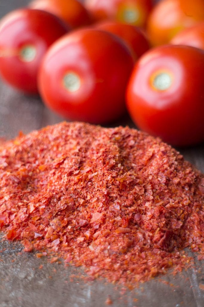 How to Make Tomato Powder out of tomato skins! Easy no waste recipe! You'll never throw away tomato skins again!