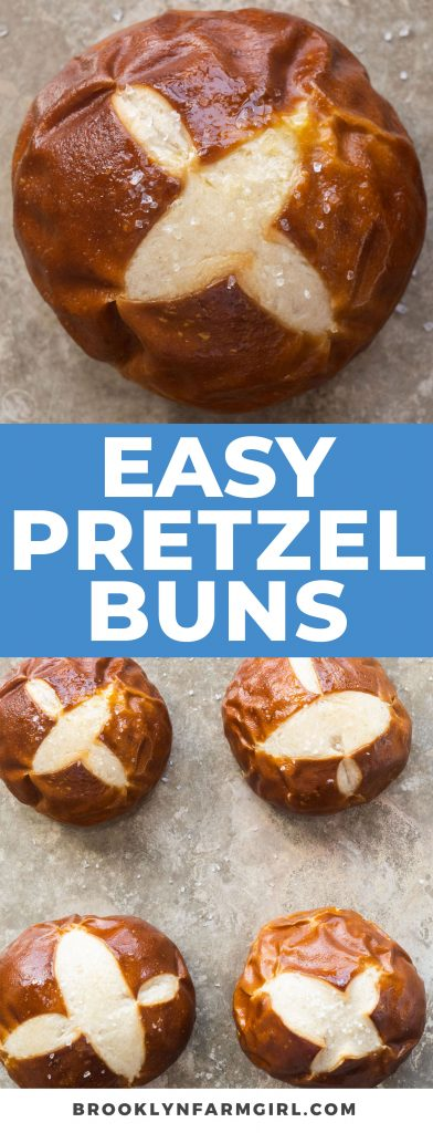 Super soft homemade pretzel rolls with buttery salty crust recipe.  Follow my easy step-by-step photos to make your own buns from scratch.