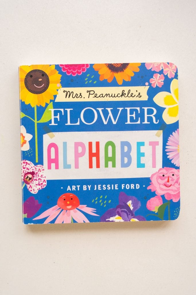 flower alphabet book.