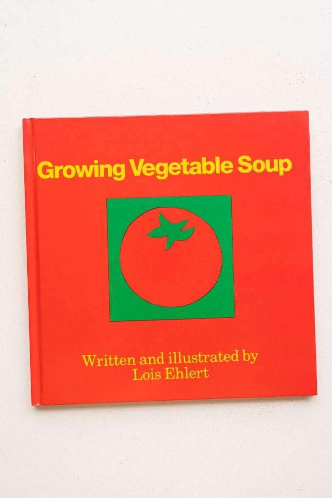growing vegetable soup.