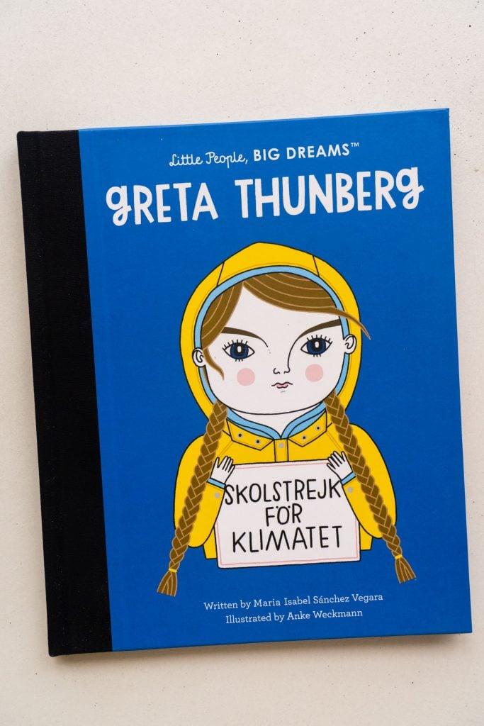 greta thunberg little people book.