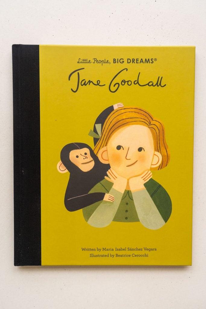 little people jane goodall book.