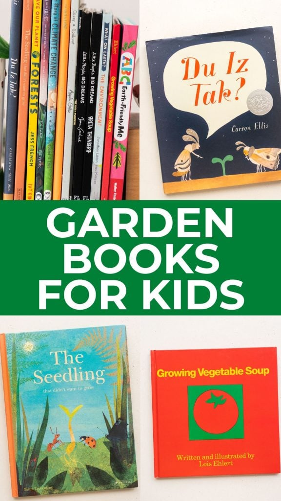 The best Earth and garden books for kids, to teach sustainability and how we can make the planet a greener place to live. This list also includes board books for babies.