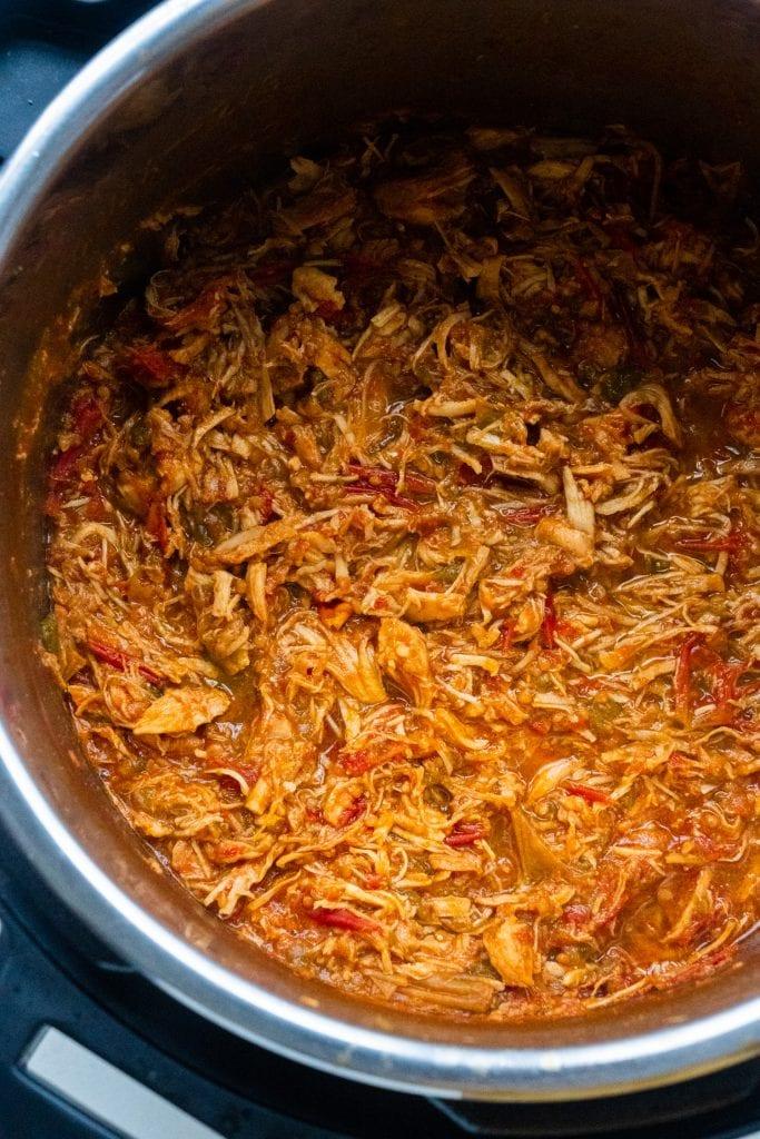 shredded chicken tacos in instant pot.